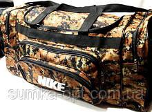 Військові дорожні сумки камуфляж Nike (принт)35*71