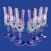 Набор хрустальных бокалов для шампанского «Виноградная лоза» 6 бокалов (130мл) (PB298795), фото 2