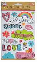 """Набор декоративных стикеров """"Friends"""""""