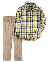 """Комплект штаны +рубашка Carters """"Удобный"""" 4Т"""