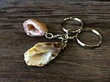 Брелок для ключей с агатовой жеодой, фото 2