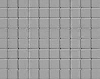 Тротуарна плитка КВАДРАТ МАЛИЙ 6см 100х100 сірий