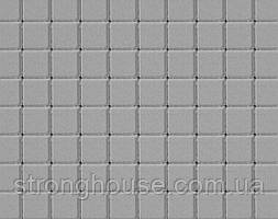 Тротуарная плитка КВАДРАТ МАЛЫЙ 6см 100х100 серый