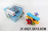 Игрушка для самых маленьких Муз.самолет 8328-4A;5А;2А (3 вида) , фото 1