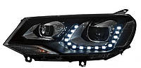 Передние Volkswagen Touareg NF альтернативная тюнинг оптика фары передние на VOLKSWAGEN Фольксваген Touareg NF