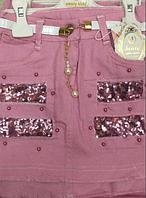Детская юбка для девочек от 5 до 8 лет.
