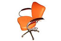 Кресло парикмахерское milan — оранж