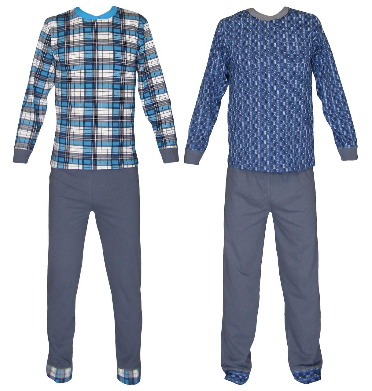 Пижама подростковая трикотажная для мальчика 03214, хлопок, р.р.40-42
