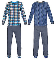 Пижама подростковая трикотажная для мальчика 03214, хлопок, р.р.40-42, фото 1
