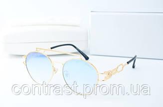 Солнцезащитные Versace 433 голубые