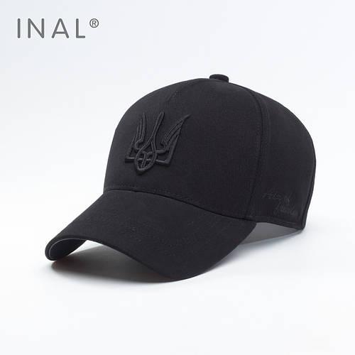 Кепка бейсболка, Air of Freedom, L / 57-58 RU, Хлопок, Черный, Inal