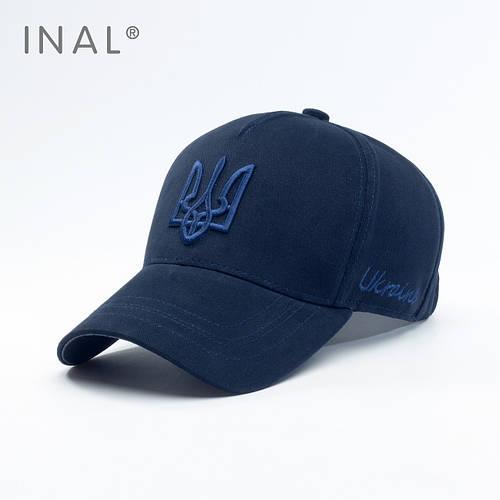 Кепка бейсболка, Ukraine, L / 57-58 RU, Хлопок, Синий, Inal