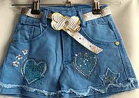 Модные шорты для девочек от 7 до 10 лет.