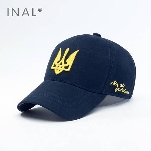 Кепка бейсболка, Air of Freedom, L / 57-58 RU, Хлопок, Синий, Inal
