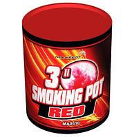 """Красный дым """"Smoking pot red"""" 3"""" MA0510/R"""