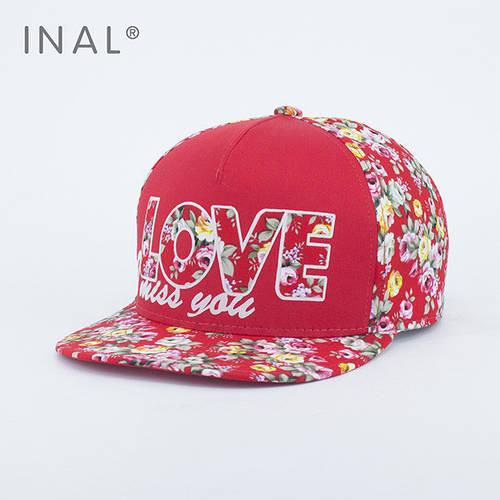 Кепка бейсболка, LOVE, M / 55-56 RU, Хлопок, Красный, Inal
