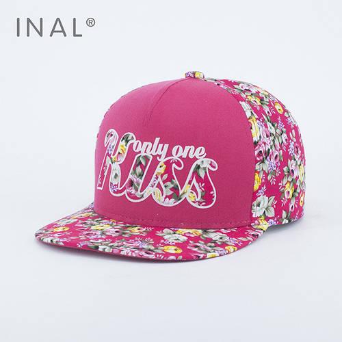 Кепка бейсболка, Kiss, M / 55-56 RU, Хлопок, Розовый, Inal