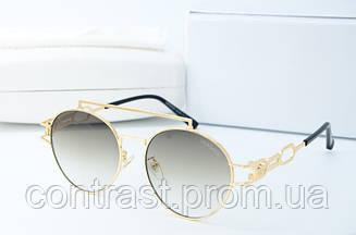 Солнцезащитные Versace 433 олива