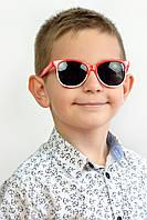 Солнцезащитные детские очки Балу красные