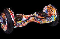 "Гироскутер / Гироборд Smart Balance Elite Lux 10,5"" Граффити +Cумка +Баланс (Гарантия 24 Месяца)"