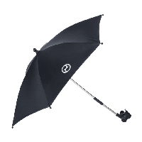 Аксессуары до колясок Priam: Зонт Cybex Black PU1 (до 12 лет / менее 36 кг) ТМ CYBEX 515404007