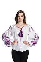 Блуза вишита Gua Дерево Життя XS біла (3202-XS), фото 1