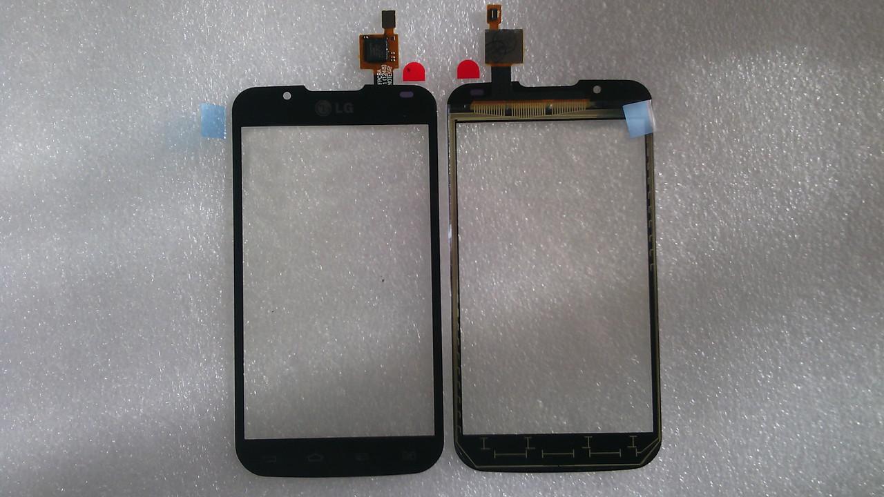 Сенсор LG P715 Optimus L7 II Dual black h.c.