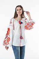 Блуза вишита Gua Бохо XS біла (1106-XS), фото 1