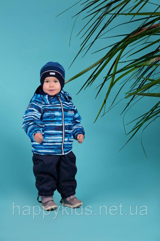 Демисезонный утепленный костюм для мальчика Lenne WAVE 18212-2290. Размеры 92 и 98.