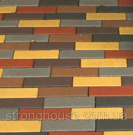 Тротуарная плитка КИРПИЧ УЗКИЙ 6см 210х70 Мозаика