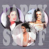 "Значки ""Майкл Джексон"" (30 шт)"