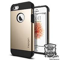 Чехол Spigen для iPhone SE/5S/5 Tough Armor, Champagne Gold, фото 1