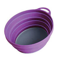 Тарелка Silicone Ellipse Bowl Lifeventure Purple 75515