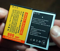 Усиленная батарея Avalanche для Sigma X-Style 28 Flip - 900 mAh
