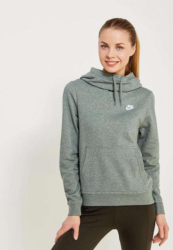 9eff43ea Толстовка женская Nike Sportswear Funnel Neck Hoodie Fleece 853928-365 -  iSportShop в Ивано-
