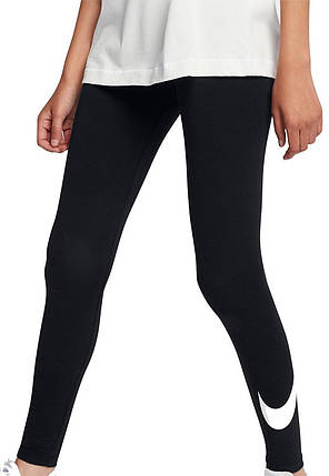 f14171d1 Купить женские лосины для спорта Nike Sportswear Leggings Club Logo ...