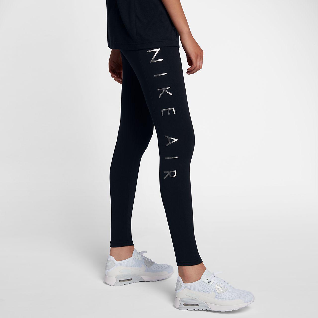 9da24a2d Лосины женские Nike Sportswear Air Leggings Black/Black 856025-015, цена 1  199 грн., купить в Ивано-Франковске — Prom.ua (ID#691373205)
