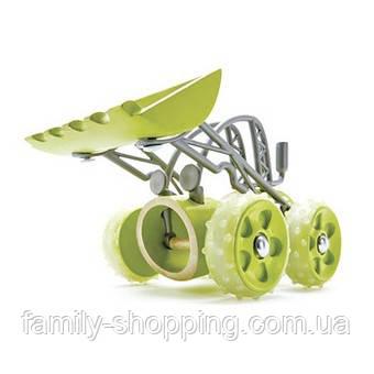 """Деревянная игрушка машинка из бамбука """"E-Dozer"""""""