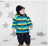 Демисезонный утепленный костюм для мальчика Lenne WAVE 18212-6370. Размеры 92 и 98.