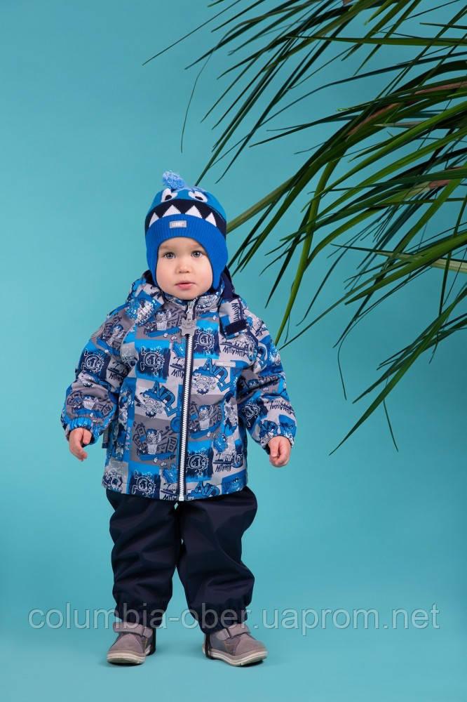 Демисезонный утепленный костюм для мальчика Lenne MONTY 18214-6790. Размеры 92 и 98.