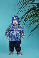 Демисезонный утепленный костюм для мальчика Lenne MONTY 18214-6790. Размеры 92 и 98. 98