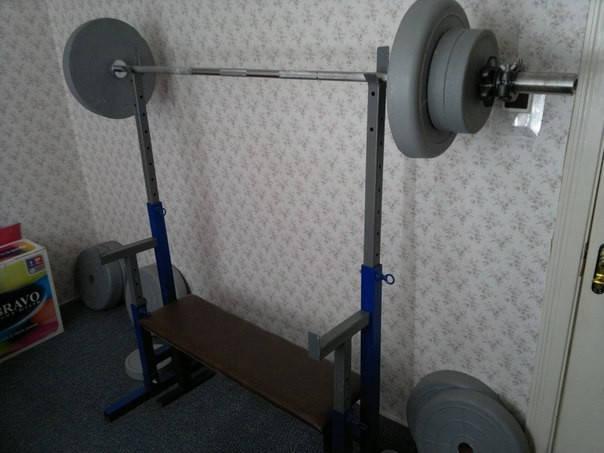 Штанга 200 кг.