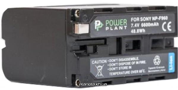 Аккумулятор (батарея) PowerPlant Sony NP-F960, NP-F970 6600mAh