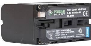 Аккумулятор (батарея) PowerPlant Sony NP-F960, NP-F970 6600mAh, фото 2