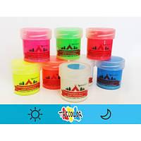 Краска светящаяся AcmeLight для туризма синяя 20мл