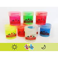 Краска светящаяся AcmeLight для туризма желтая 20мл