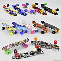 Скейт Пенни Борд (Penny Board) Граффити. 22 дюйма
