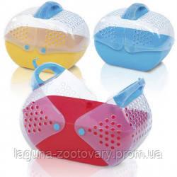 Imac БАГГИ (BAGGY) переноска для грызунов, пластик, 36х25х29 см.