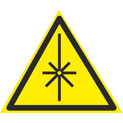 Знак: Осторожно ! Излучение лазера 150мм с-к пленка, Евросервис (000018940)