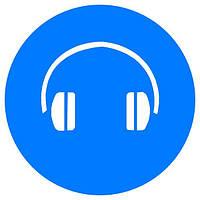 Знак Работать с применением средств защиты органов слуха! d-150 пластик ПВХ